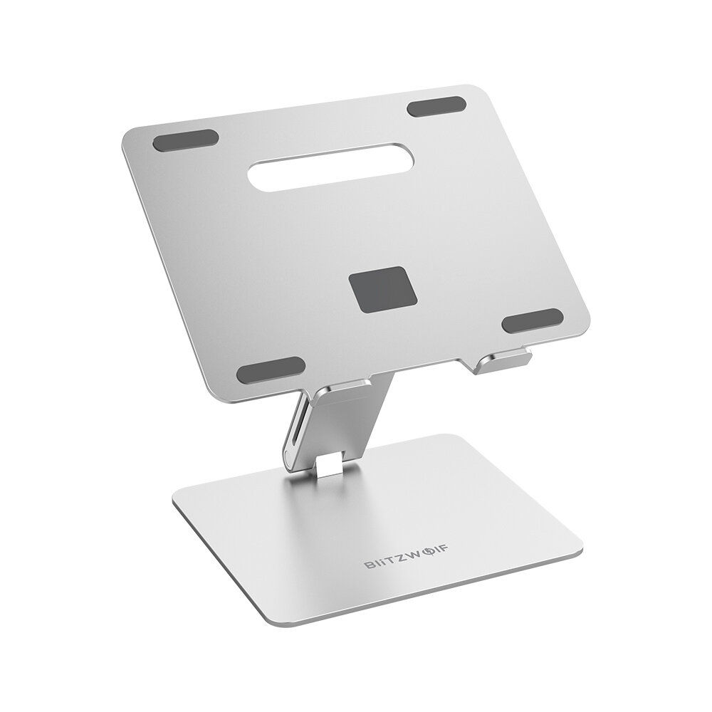 BlitzWolf®BW_ELS2 Bracket Laptop Stand Foldable Aluminum Alloy Laptop Stand Heat Dissipation Adjustable Angle Hold up to 8kg