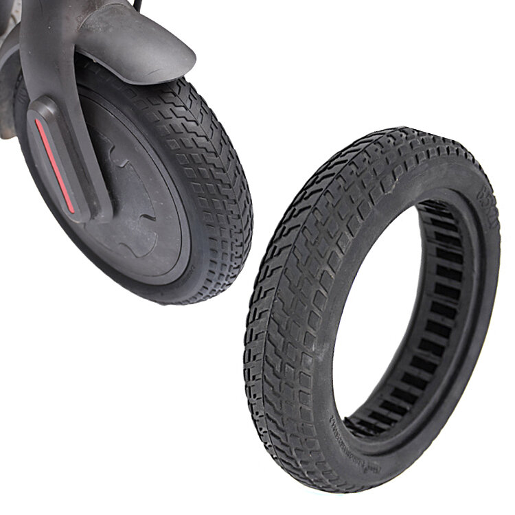1PC BIKIGHT 81/2×2 Non-Pneumatic Solid Damping Rubber Tire For Xiaomi M365 Electric Scooter