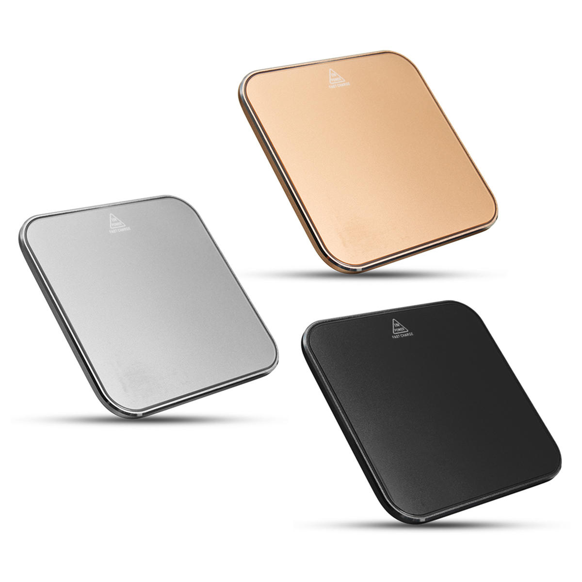 Universal  9V 1.8A Rotating Head Design Wireless Charger Pad for iPhone 8 Puls X Plus