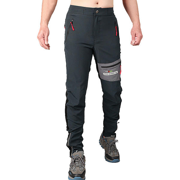 Mens Outdoors High Elastic Quick Drying Sports Pants Waterproof Breathable Slim Fit Climbing Trousers