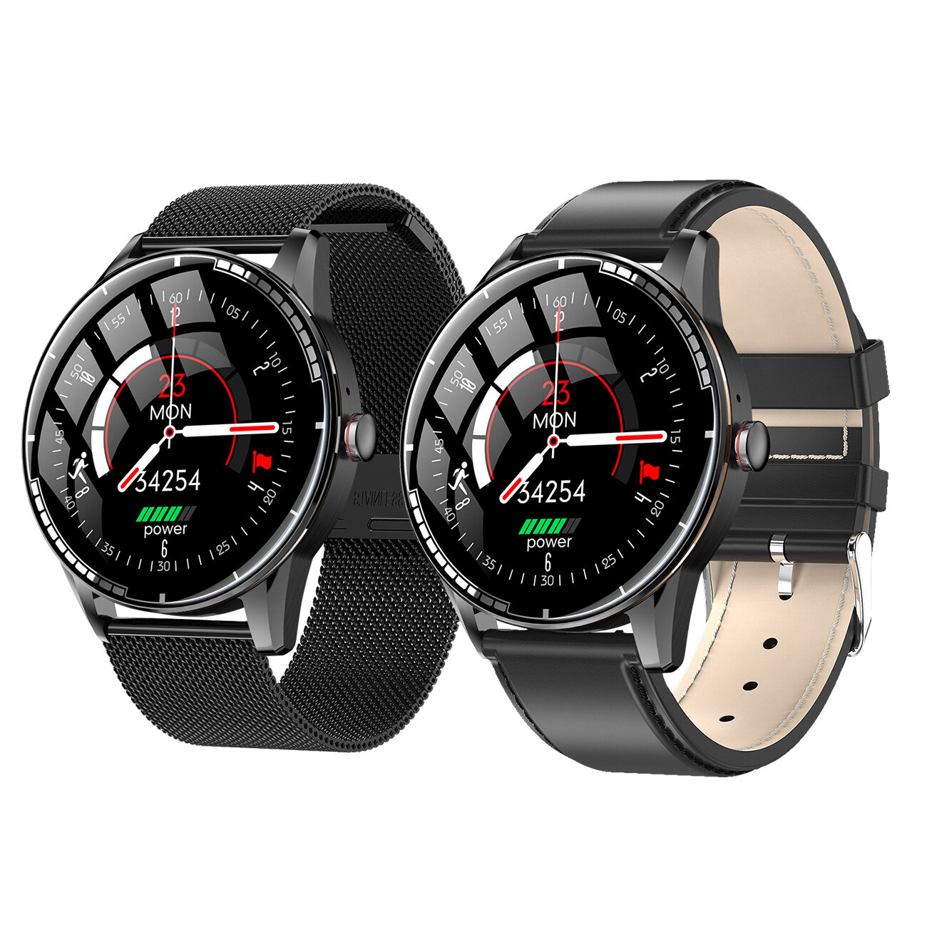 [bluetooth Call] Bakeey H6 Local Music Playback Wristband Heart Rate Blood Pressure Oxygen Monitor Weather Dispaly Smart