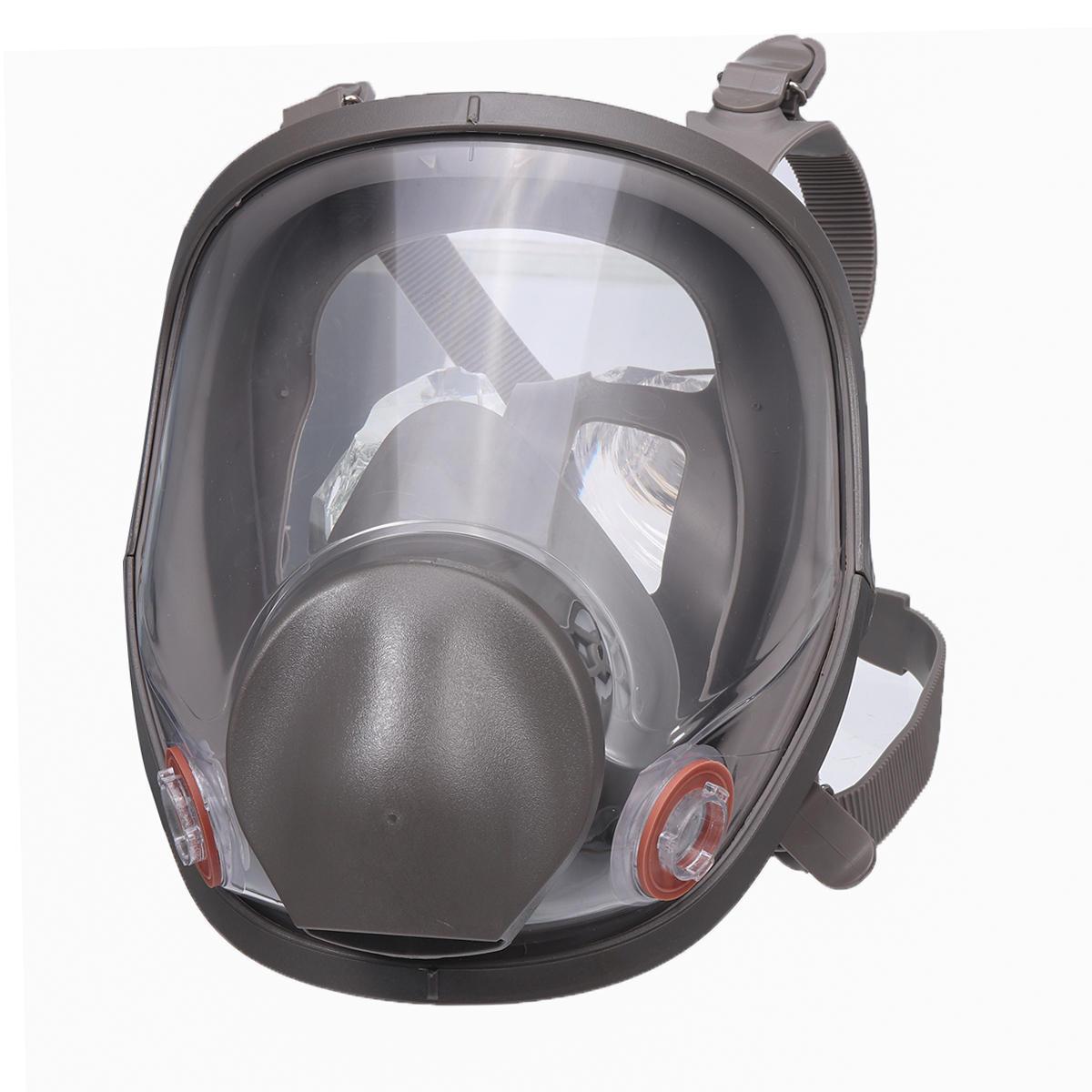 Reusable 6800 كامل الوجه قناع الغاز رش الطلاء تنفس سيليكون Facepiece