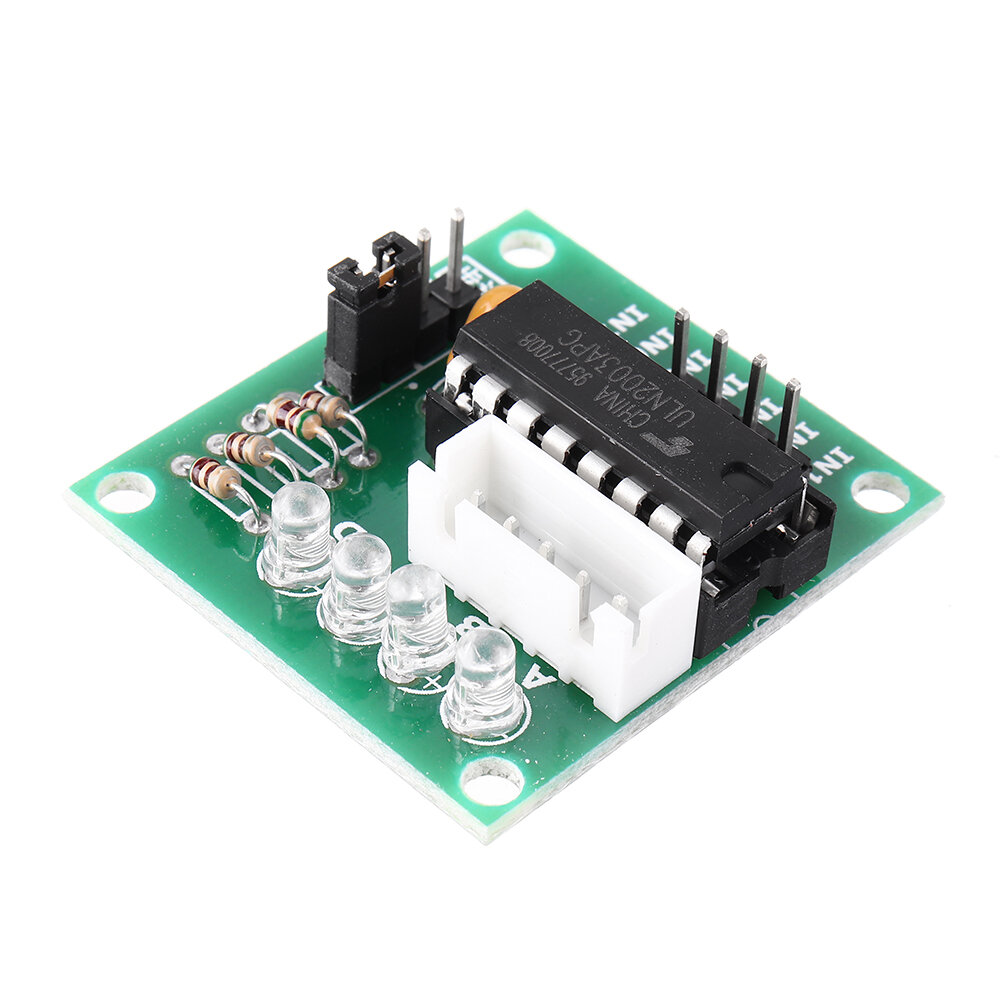 ULN2003 Stepper Motor Driver Board Test Module For AVR SMD Geekcreit for Arduino - products that work with official Arduino boards