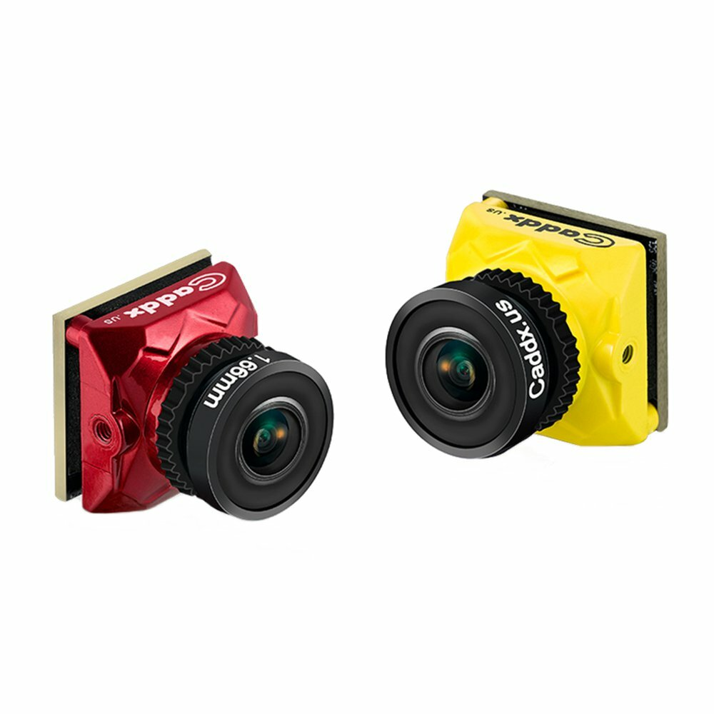 Caddx Ratel 1/1.8'' Starlight HDR OSD 1200TVL NTSC/PAL 16:9/4:3 Switchable 1.66mm/2.1mm Lens FPV camera For RC Drone