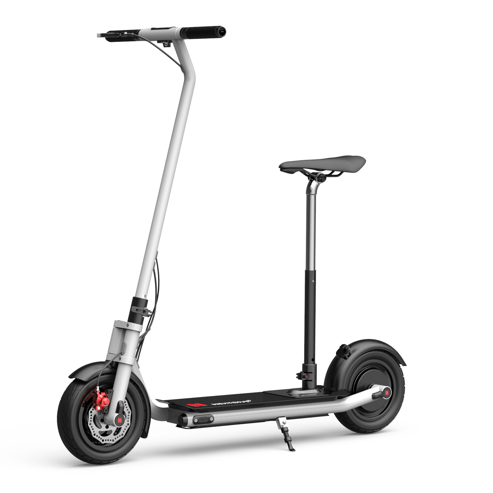 NEXTDRIVE N-7 300W 36V 7.8Ah Foldable Electric Scooter With Saddle For Adults/Kids 26 Km/h Max Speed 22 Km Mileage