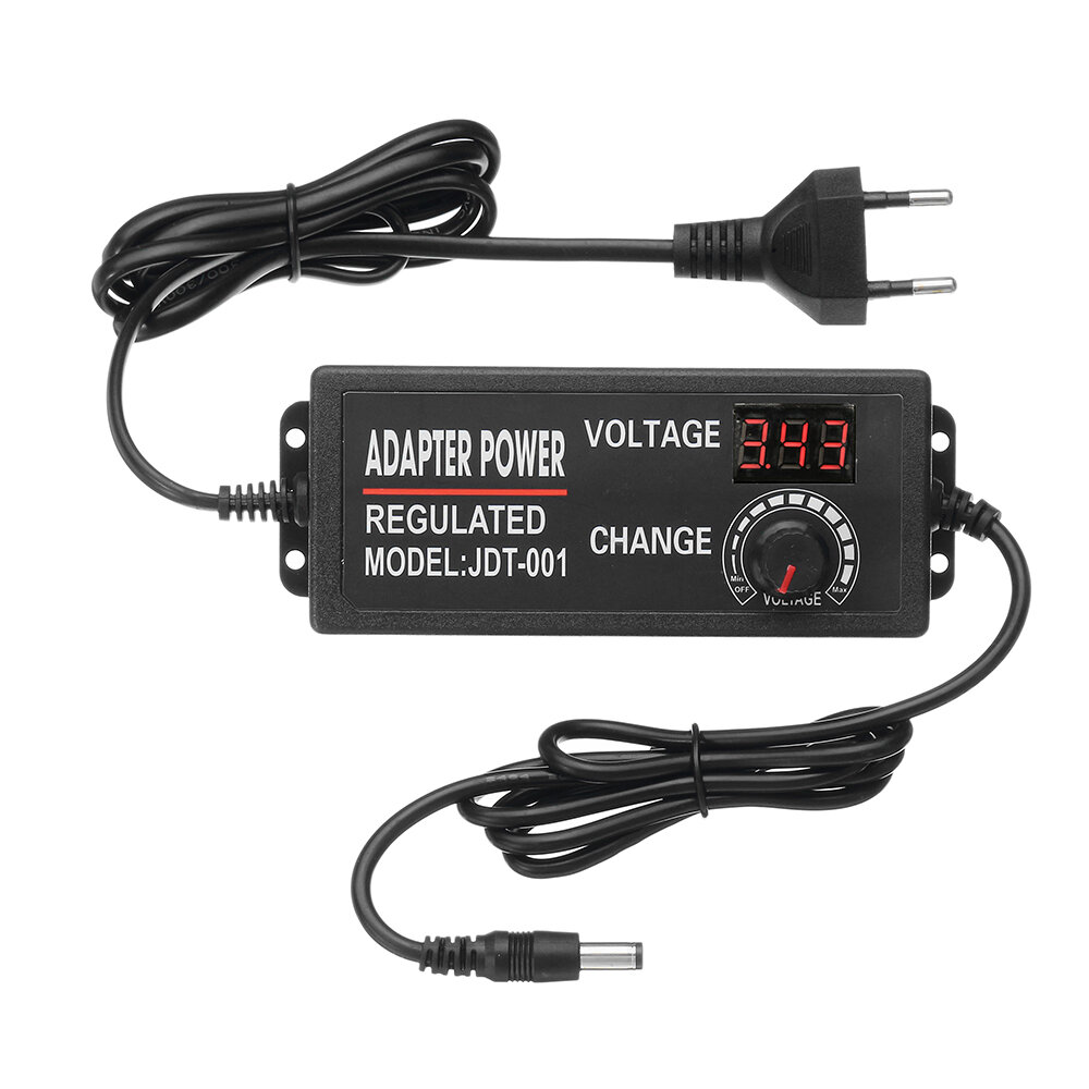 Excellway® 4-24V 1 5A 36W AC/DC Power Adapter Switching Power Supply  Regulatedr Adapter Display