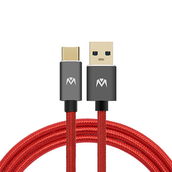 MantisTek® T1 1M 1.8M USB 3.0 to Type-C 3A Quick Charge Sync Data Cable