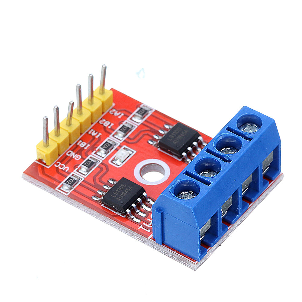 L9110S H-bridge Dual DC Stepper Motor Driver Board Stepper Motor Module L9110 Geekcreit for Arduino - products that work фото