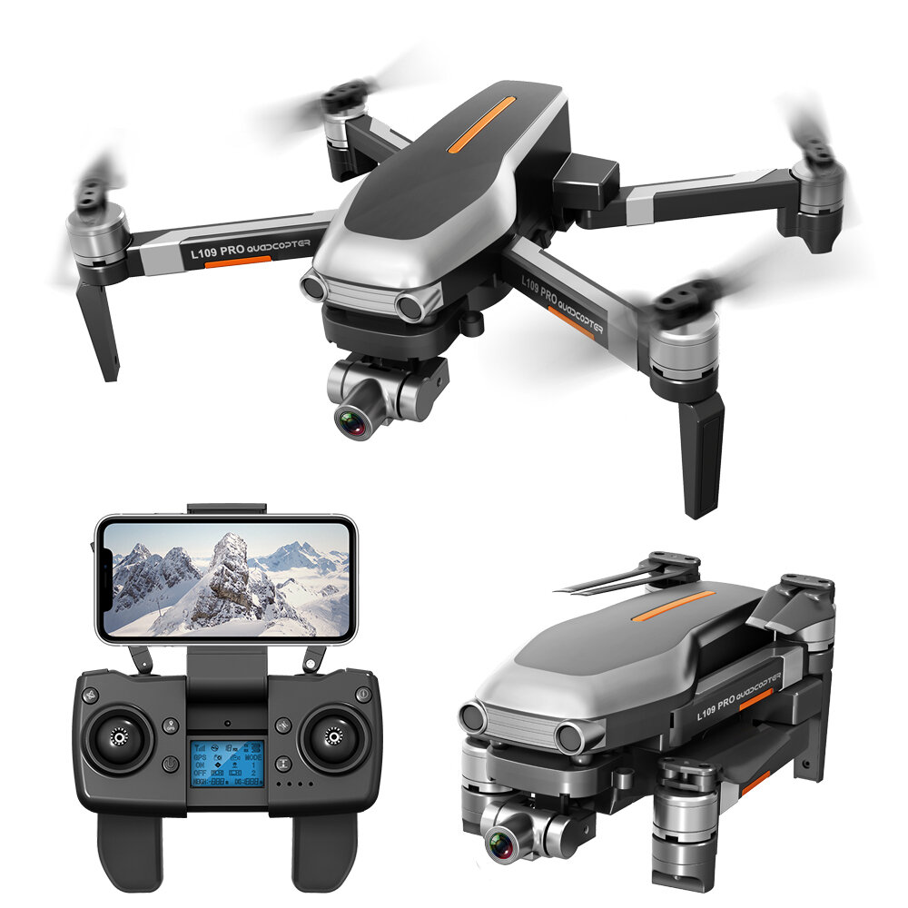 L109 PRO GPS 5G WIFI 800M FPV With 4K HD Camera 2-Axis Mechanical Stabilization Gimbal Optical Flow Positioning RC Quadc