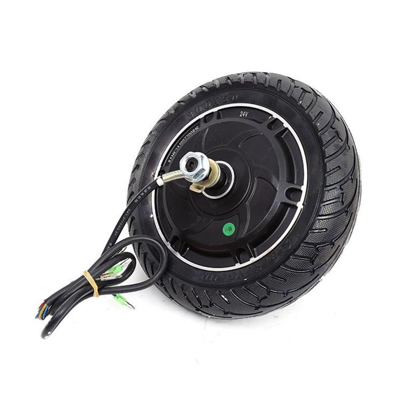 8inch 24V/36V/48V Brushless Hub Motor Toothless Wheel For Electric Scooter Skateboard