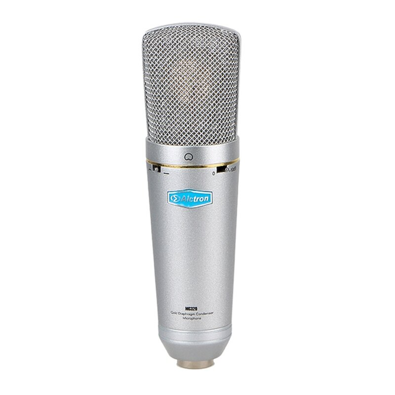 Alctron MC320 Condenser Microphone Professional Fet for Studios Recording Microphone Live Broadcast Stage Performance