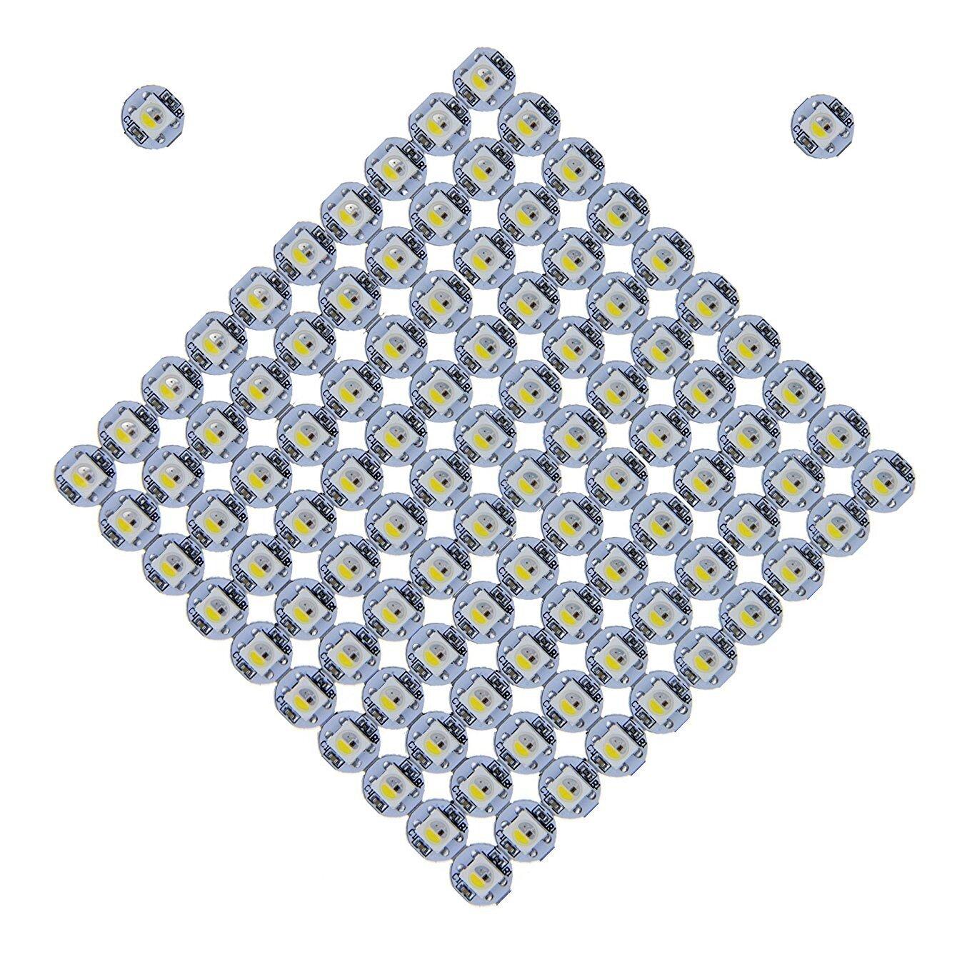 innovative design a698c 9dd67 100PCS SK6812 WS2812B RGBW RGBWW Individually Addressable LED Chip Board  for Arduino DIY Lighting