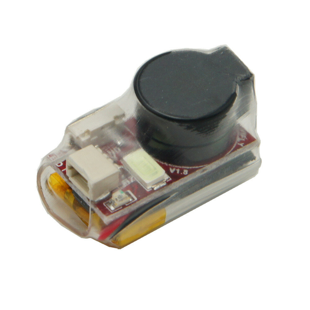 New Vifly Finder 2 5V Super Loud Buzzer Tracker Over 100dB w/ Battery & LED Self-power for RC Drone FPV Racing
