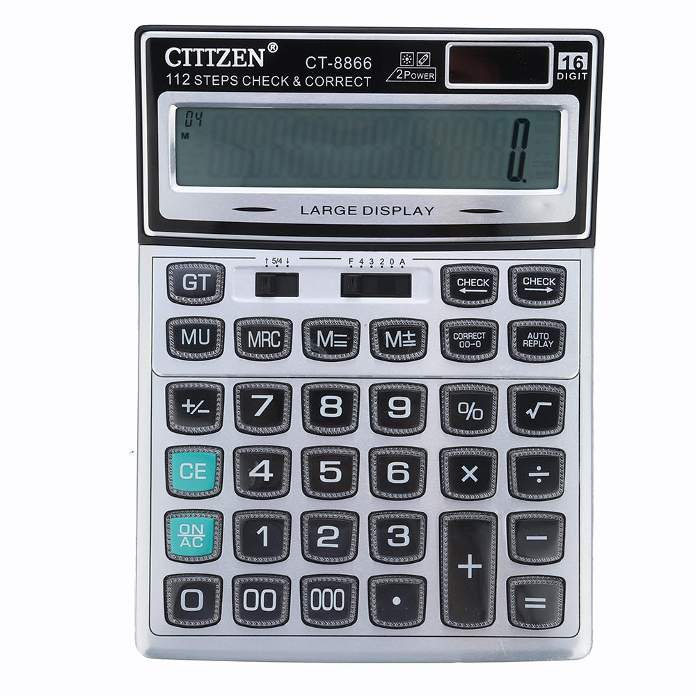 GTTTZEN CT-8866 Crystal button calculator For Office And Student