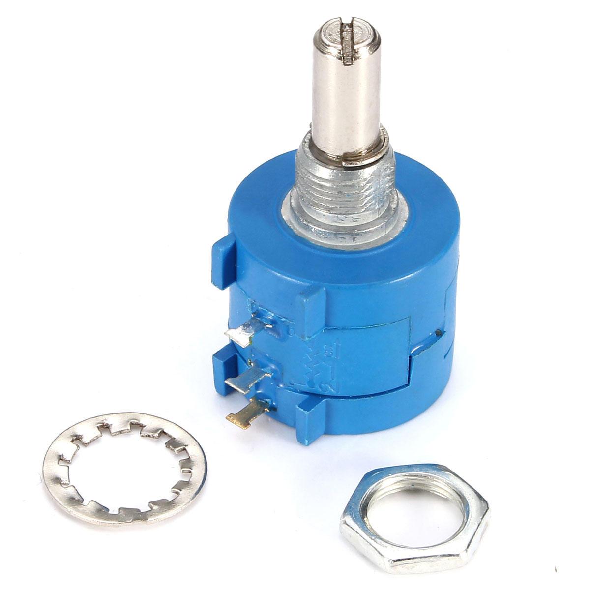 3Pcs 3590S-2-103L 10K Ohm BOURNS Rotary Wirewound Precision Potentiometer Pot 10 Turn