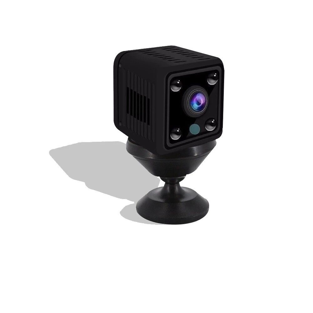 1080P HD Mini Wifi IP Camera 360° 2MP Night Vision Moving Detection Alarm Push Recorder Camcorder DVR IP Camera Baby Monitors for Remote Live Broadcast Baby Care