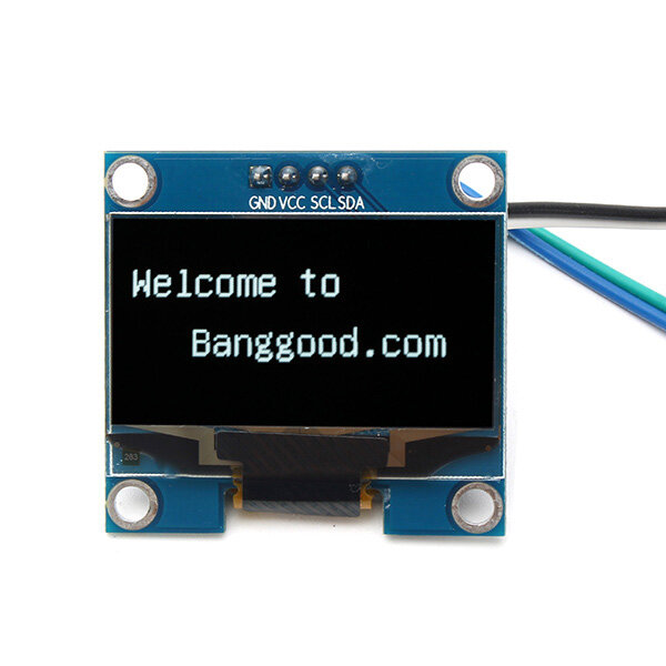 "1.3/"" Blue OLED LCD 4Pin Display Module IIC I2C 128x64 3-5V Interface for Arduino"