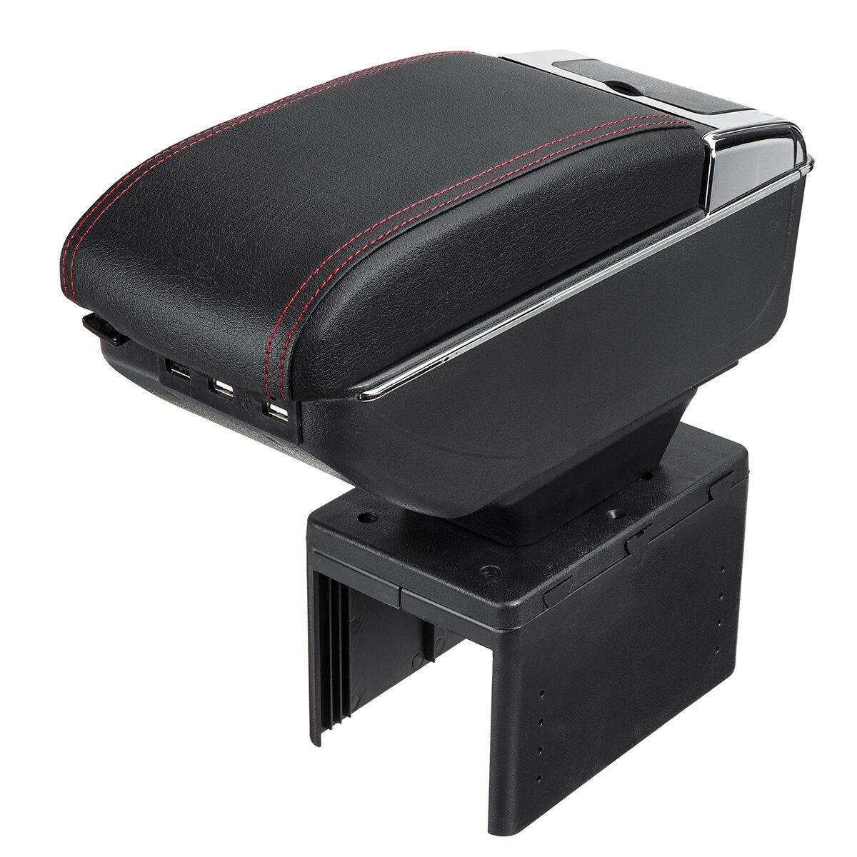 Universal Car Armrest Cushion Pad Center Organizer Console Pad Stroage Box Cover