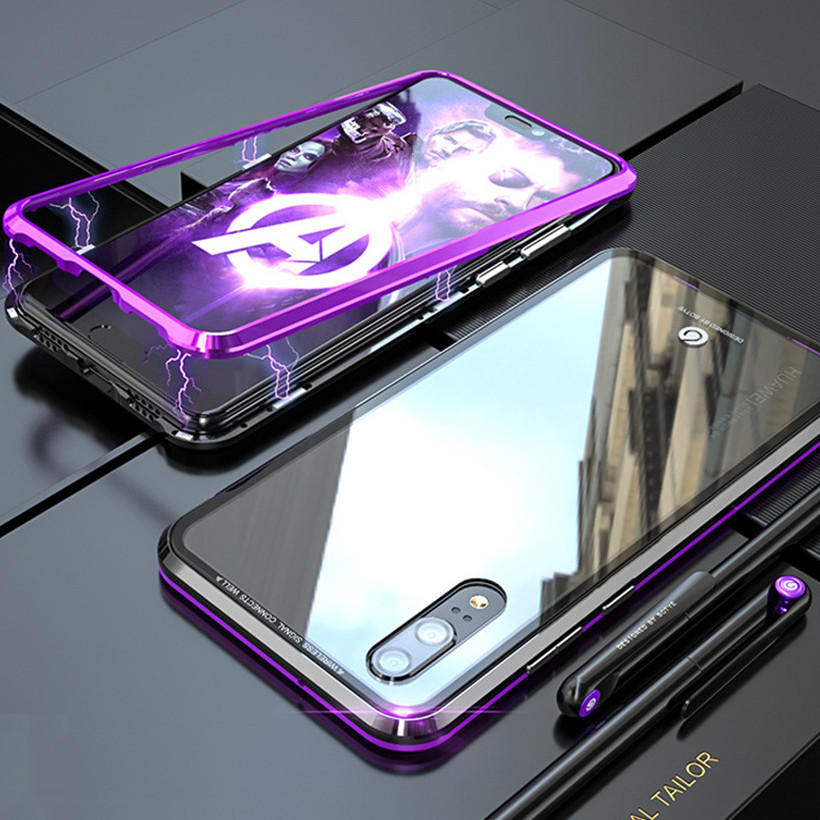 Bakeey 360° Magnetic Adsorption Upgraded Version Protective Case for Huawei P20 / P20 Lite / P20 Pro
