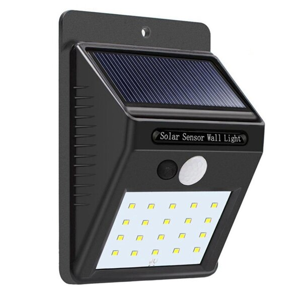 New 100LED Solar Lights Outdoor Wireless Motion Sensor Wall Yard Garden Pathway