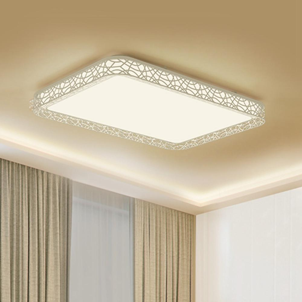 Xiaomi Yeelight YILAI 110W Rectangle Style Hollow LED Ceiling Light Pro for Home AC220-240V