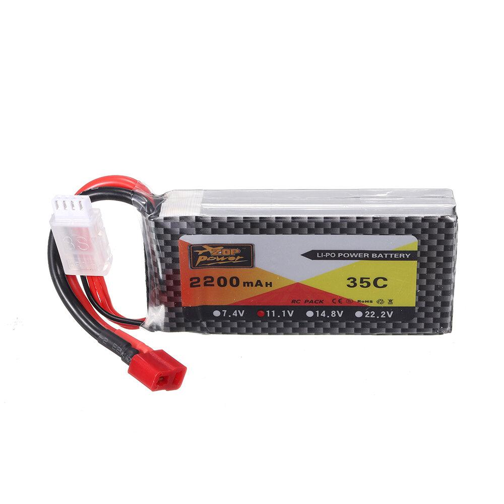 Banggood coupon: ZOP Power 11.1V 2200mAh 35C 3S Lipo Bateria T Plug para modelos RC