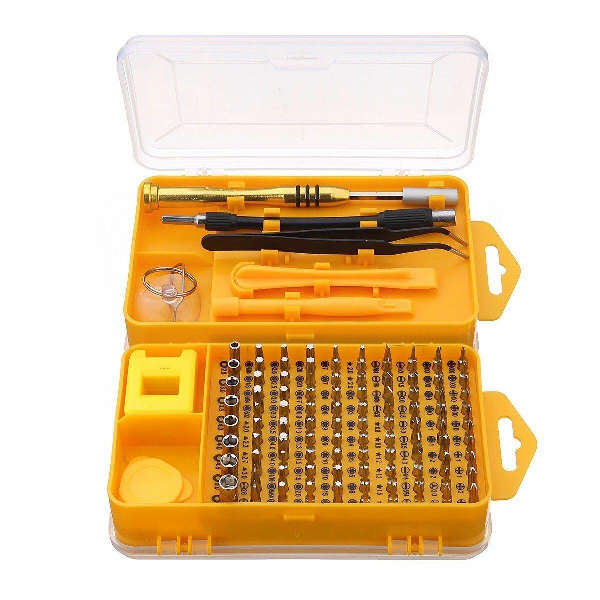 Raitool 110 in 1 Multifunction Screwdriver Set Watches Phone Repair Tools Bits Kits DIY