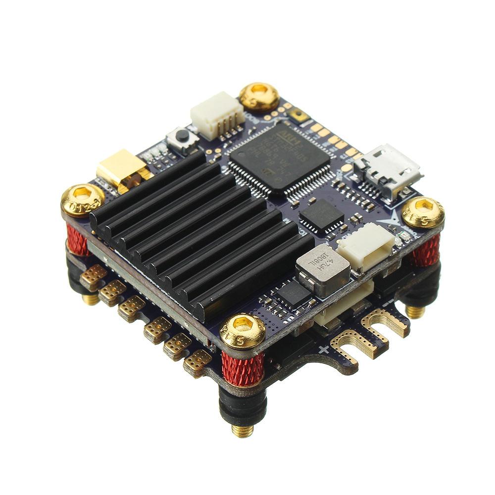 LDARC 30.5x30.5mm KK Super Flytower F4 Controlador de Vôo OSD com 48CH 25/200 / 600mW VTX & 40A BL_S ESC