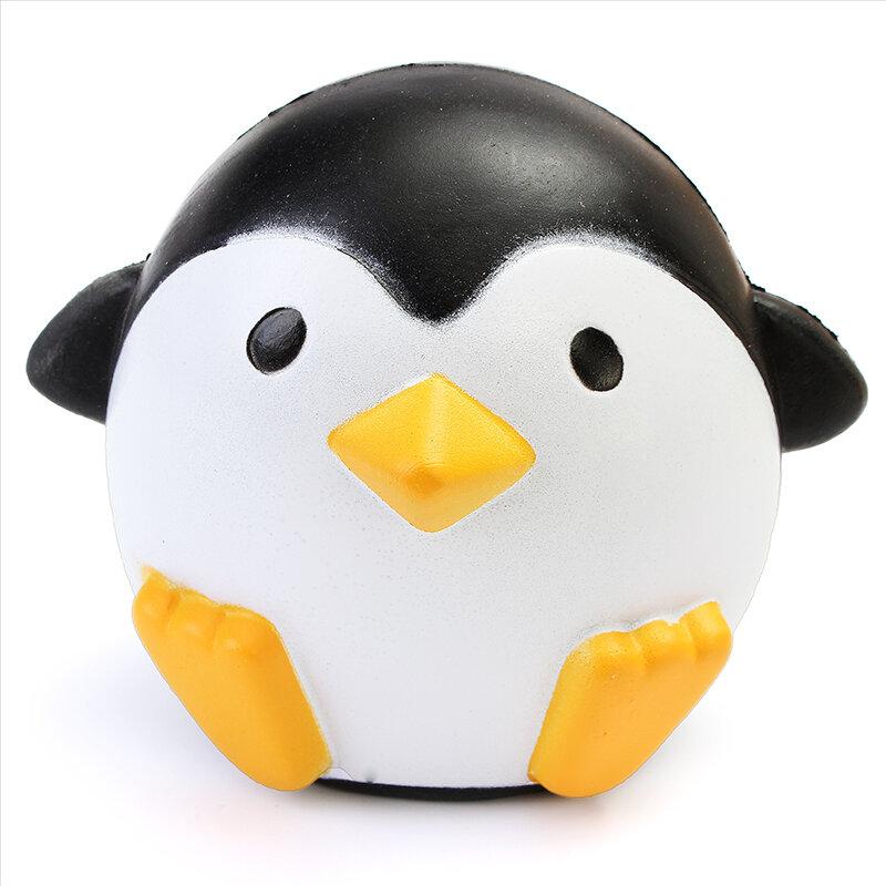 स्क्विशी पेंग्विन 10 सेमी धीमी राइजिंग Soft कावई प्यारा जानवर संग्रह उपहार सजावट खिलौना