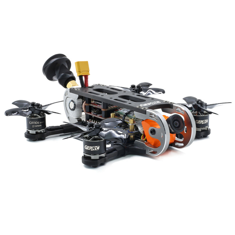 Geprc GEP-CX Cygnet 115mm 2 Inch RC FPV Racing Drone Stable F4 20A 48CH RunCam Split Mini 2 1080P HD