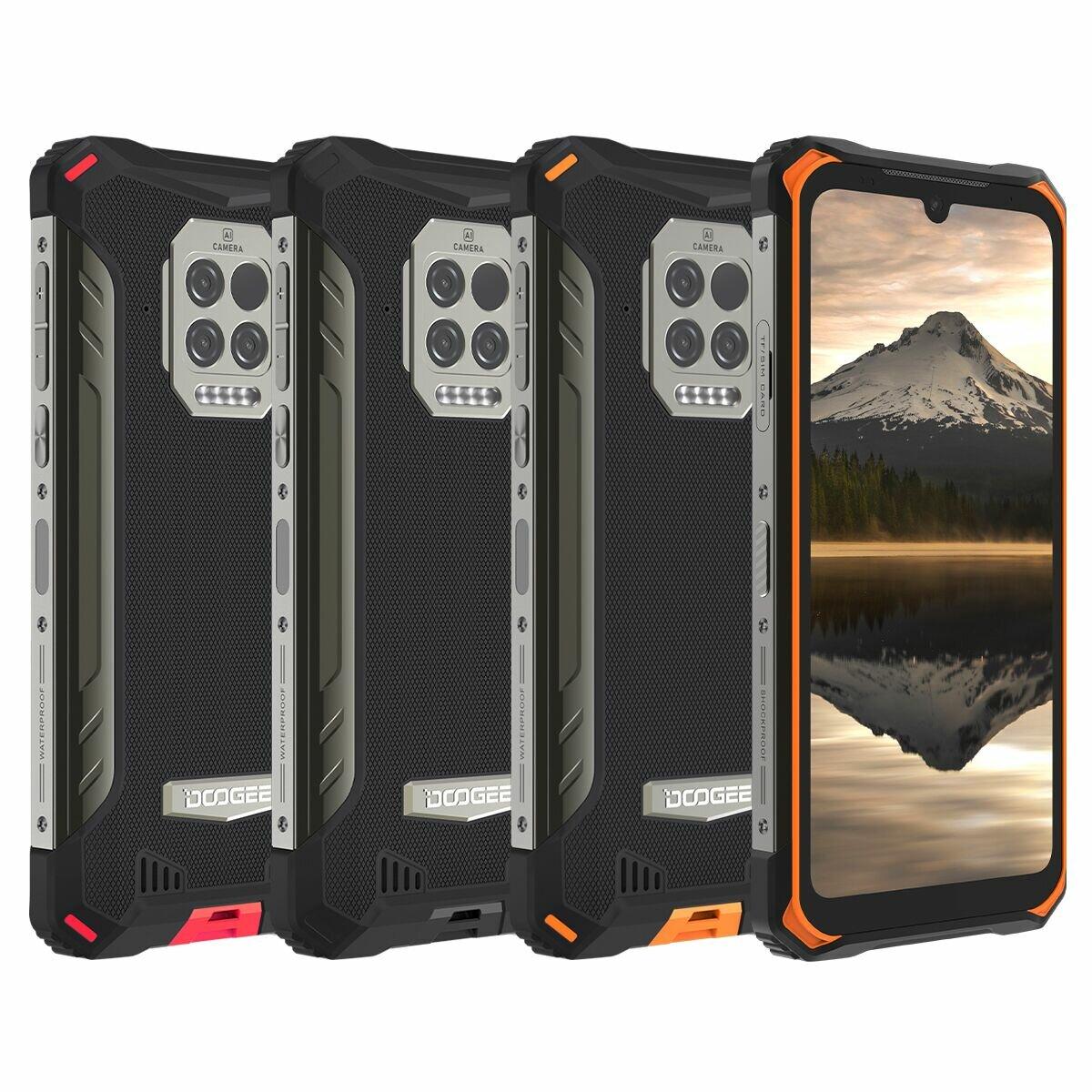 DOOGEE S86 Pro グローバルバンド 6.1 インチ IP68&IP69K 防水 NFC 8500mAh 8GB 128GB Helio P60 16MP AI トリプルカメラ 4G オクタコアスマートフォン