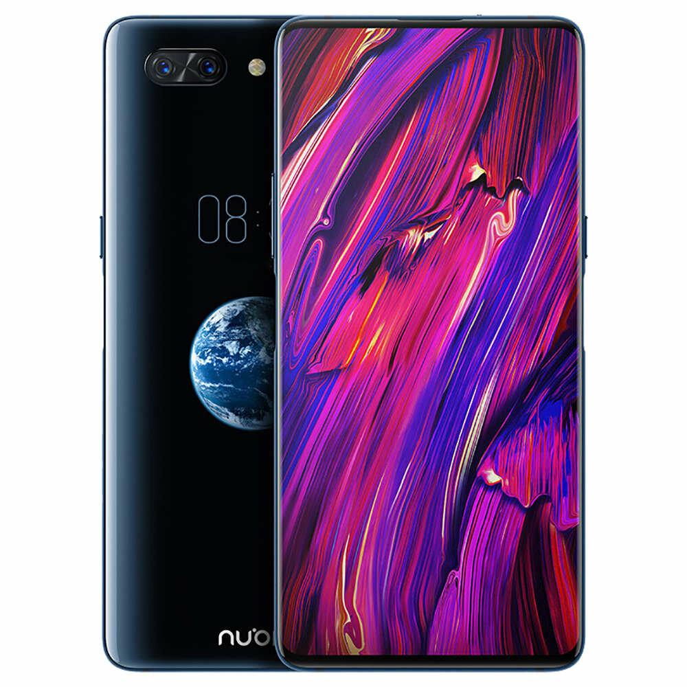 Nubia X 6.26 Inch FHD+ 3800mAh QC 6GB RAM 64GB ROM Snapdragon 845 Octa Core 2.649GHz 4G Smartphone