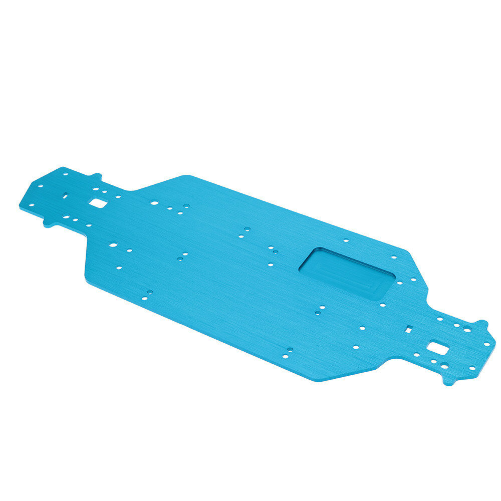 HSP 04001 03601 Aluminum Alloy Metal Chassis Upgrade Parts For Buggy 1/10 94107 94170 94118 94111 RC Car