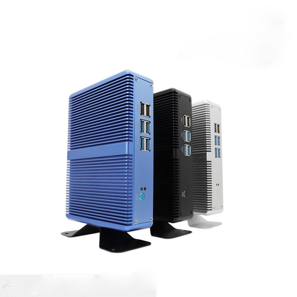 E-Global M3 Mini pc Intel Core I3 5005U Barebone Fanless Intel HD Graphics 5500 Windows 10 Computer 2.4GHz 4K HTPC WiFi HDMI VGA