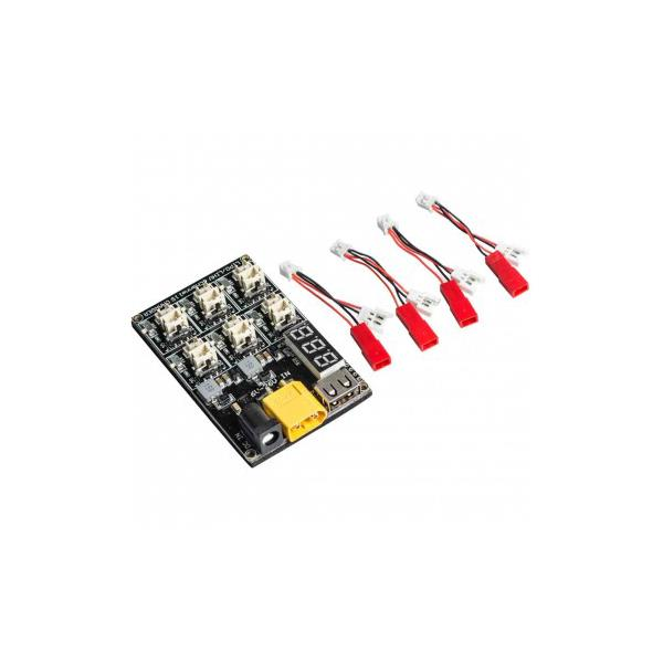 AKK 1S LiPo LiHV Battery Charger Board Micro JST 1.25 and JST-PH 2.0 for Blade Inductrix Tiny Whoop