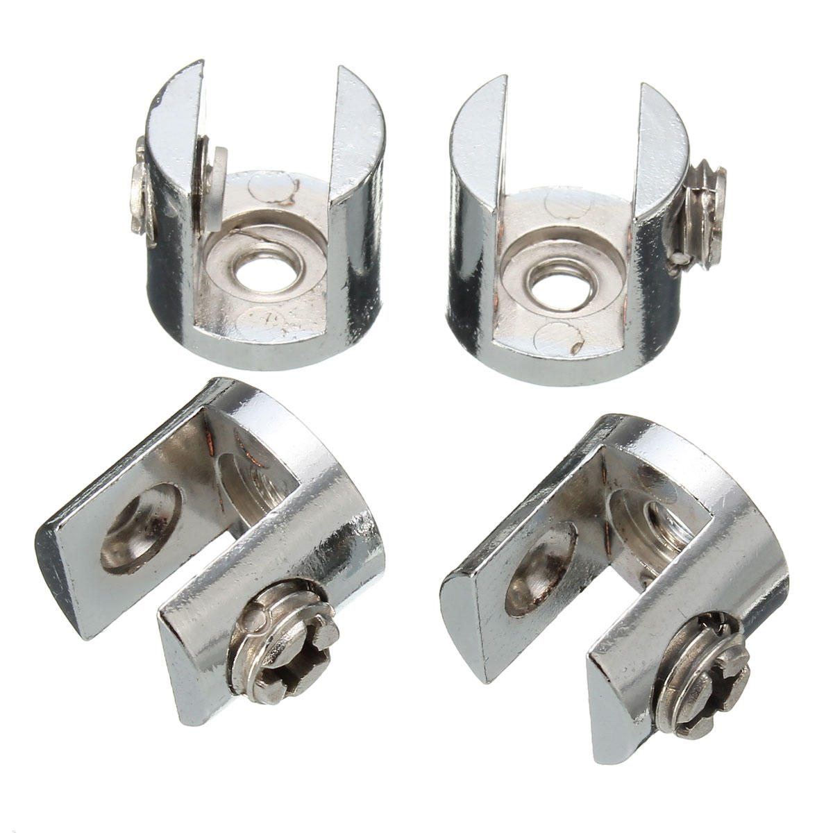 SUS Shelves Support Brackets Clamps For Glass Wooden /& Acrylic Shelves Hold