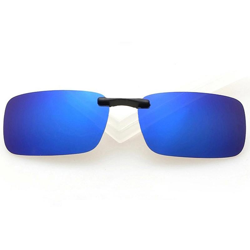 Women Men Summer Outdoor Casual Ultralight Driving Sunglasses Polarized Glasses Clip