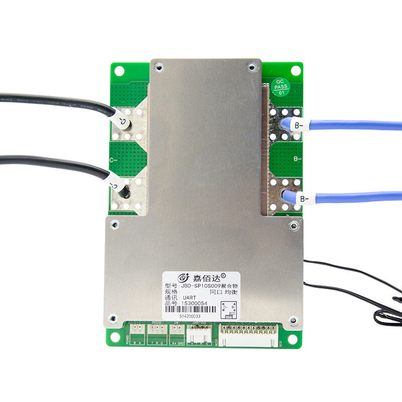 7S SANYUAN 24V 60A/80A/100A Lithium Battery Protection Plate Inverter bluetooth Intelligent BMS with UART Communication