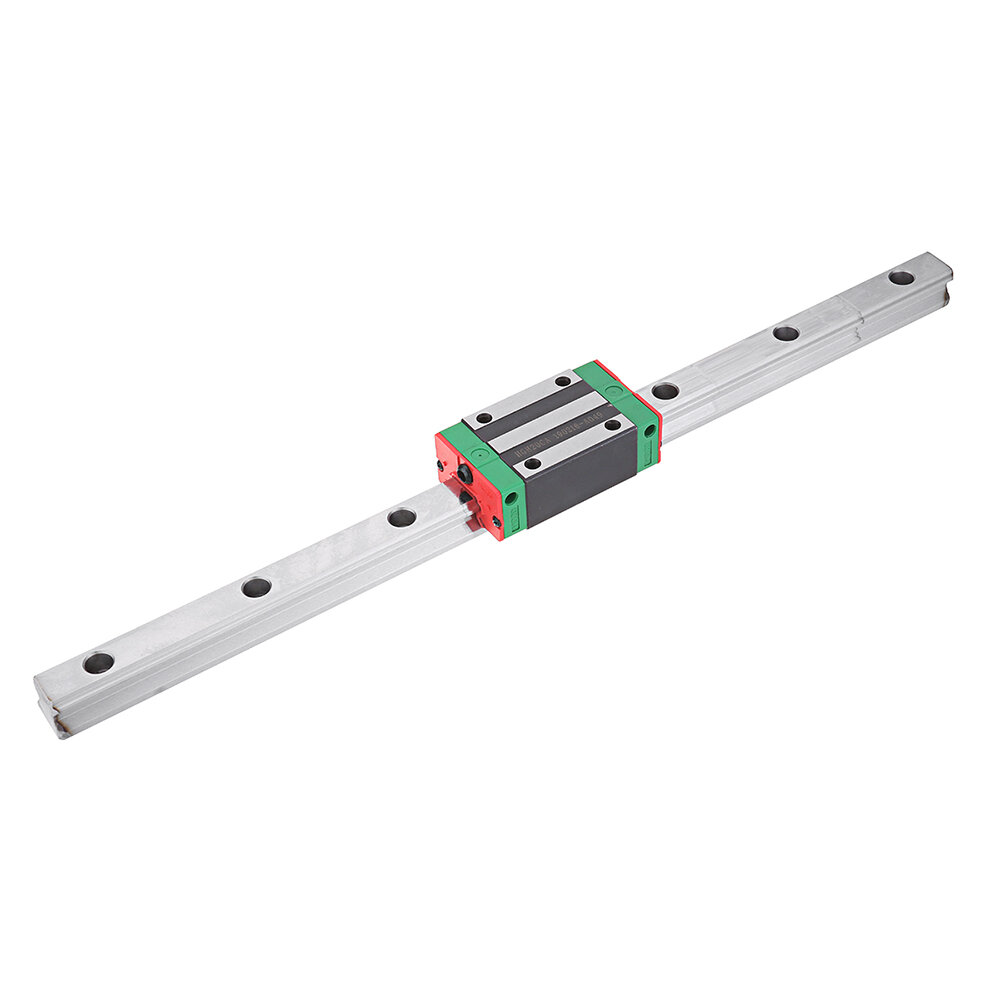Machifit HGR20 100-1100mm Linear Rail Guide with HGH20CA Linear Rail Slide Block CNC Parts