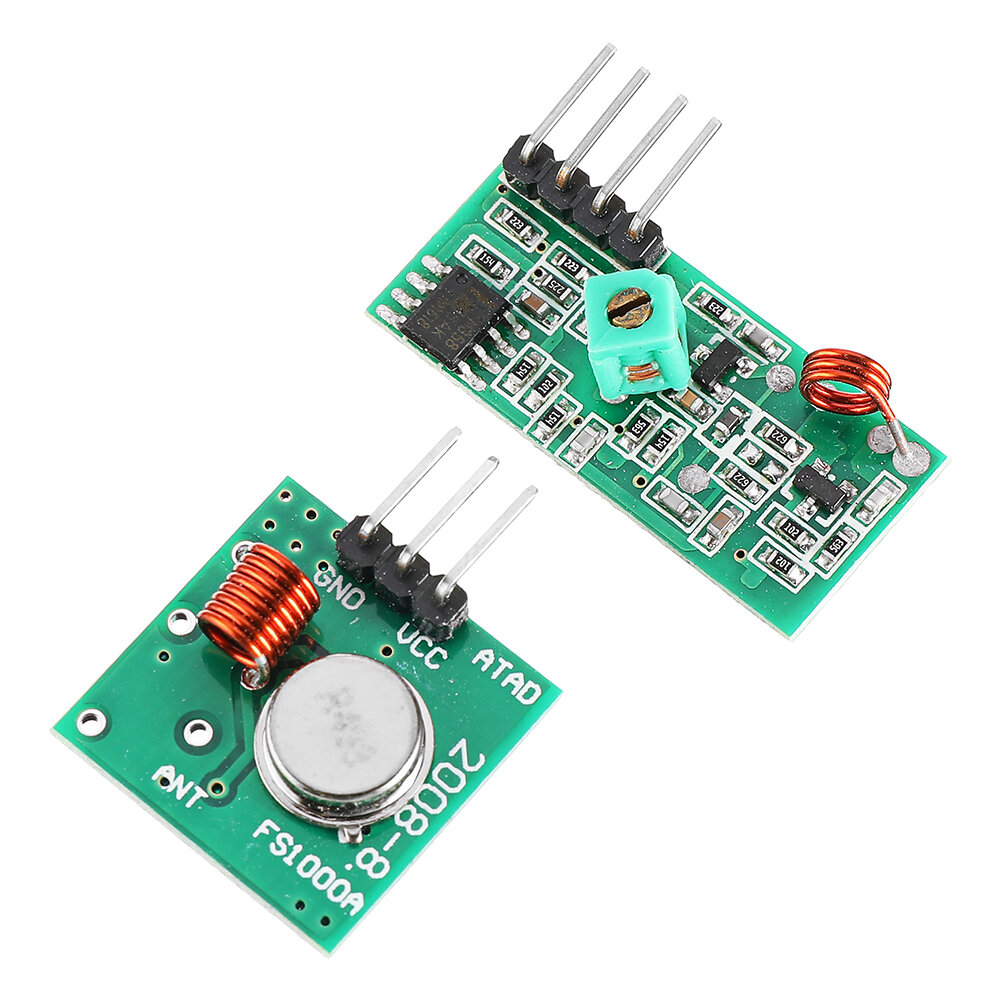 433Mhz RF Decoder Transmitter With Receiver Module Kit For ARM MCU Wireless  Geek - US$2.99