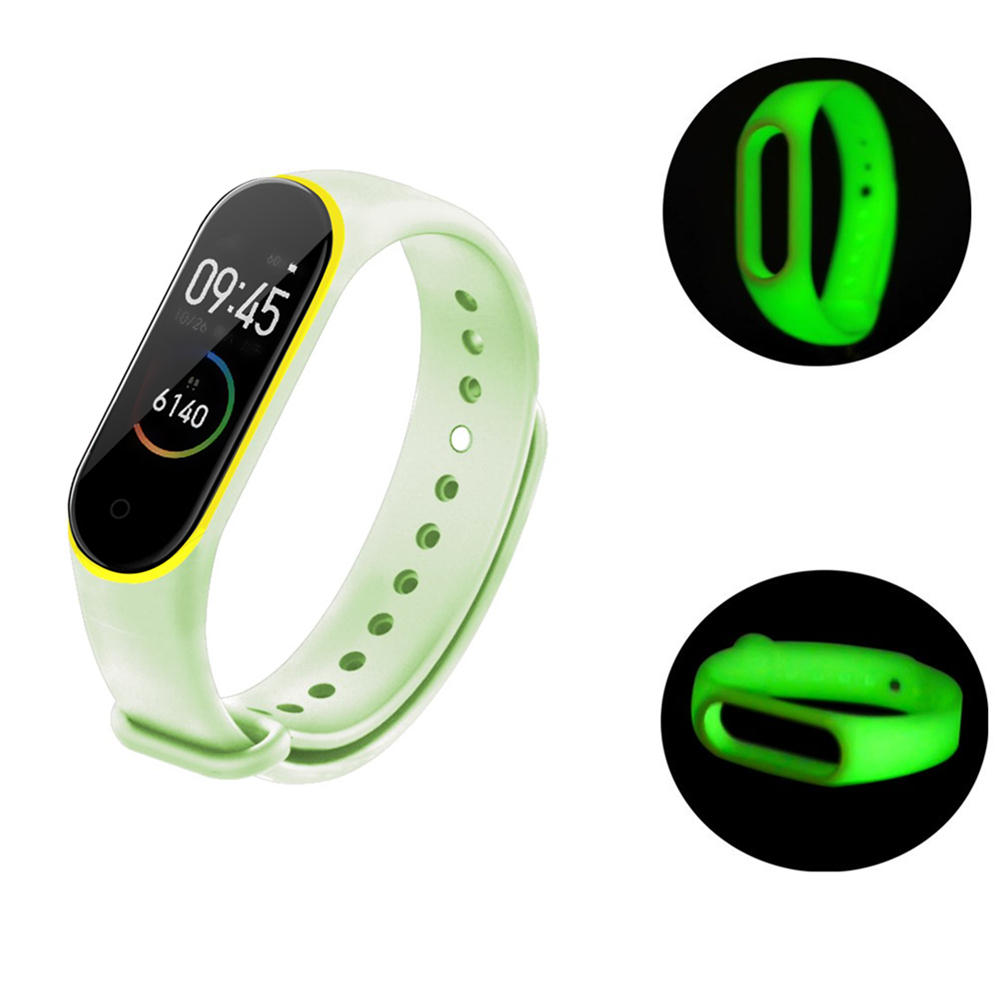 Luminous Watch Band Rem Replacement for Xiaomi Miband 4