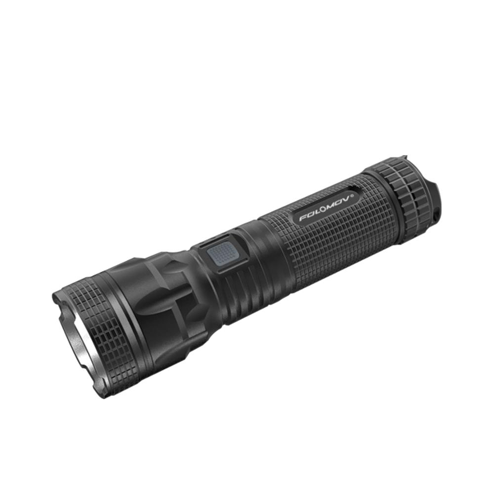 Folomov Tour B5M XHP50.2 2500LM Multifunctional USB Rechargeable Tactical LED Flashlight 26650