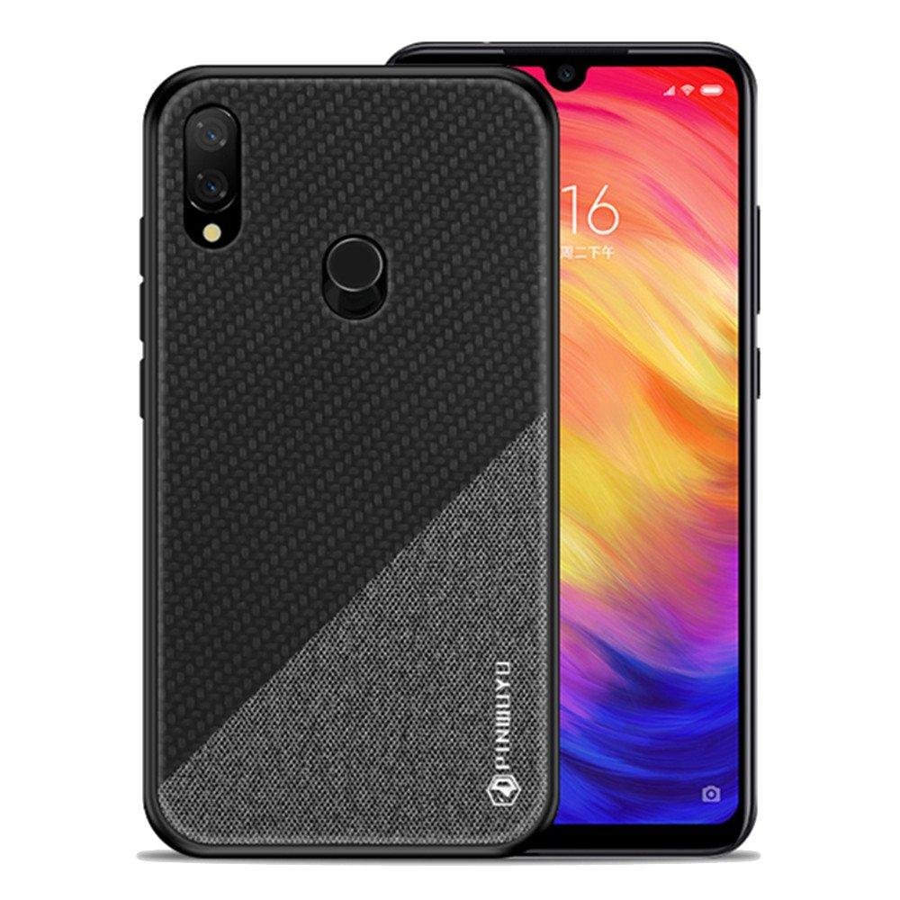 sneakers for cheap 8365d c68df MOFI PINWUYO Cloth Pattern Shockproof Soft TPU Back Cover Protective Case  for Xiaomi Redmi Note 7 / Note 7 Pro