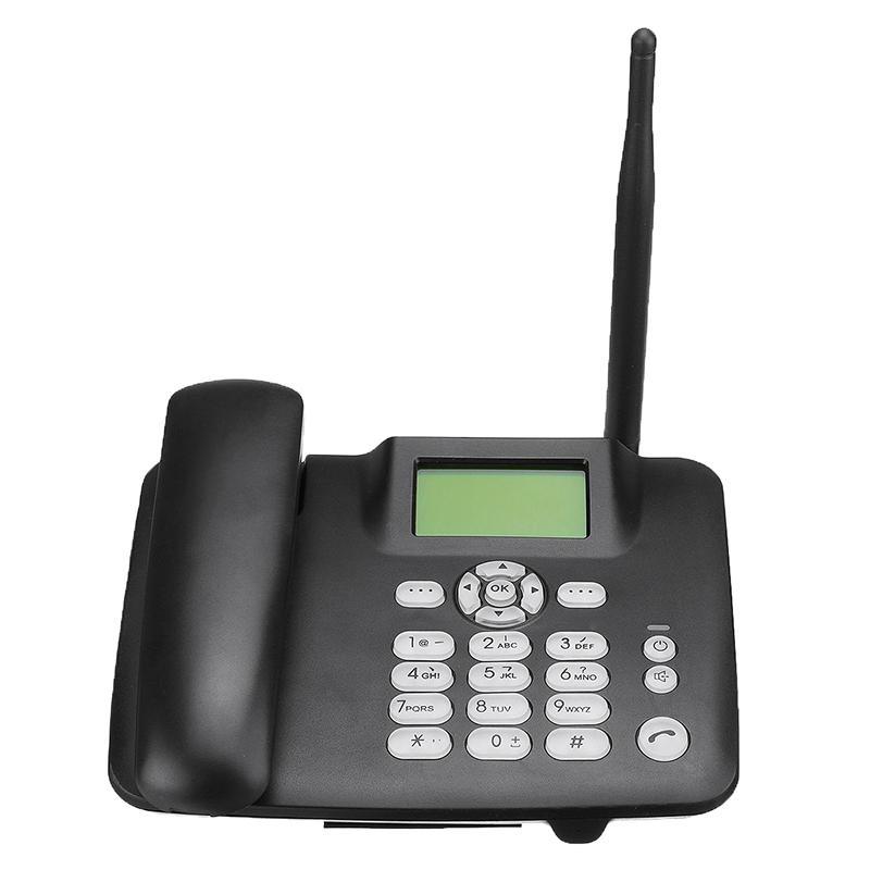 Điện thoại để bàn Điện thoại không dây Điện thoại không dây 4G Không dây GSM Bàn Điện thoại Thẻ SIM Máy tính để bàn