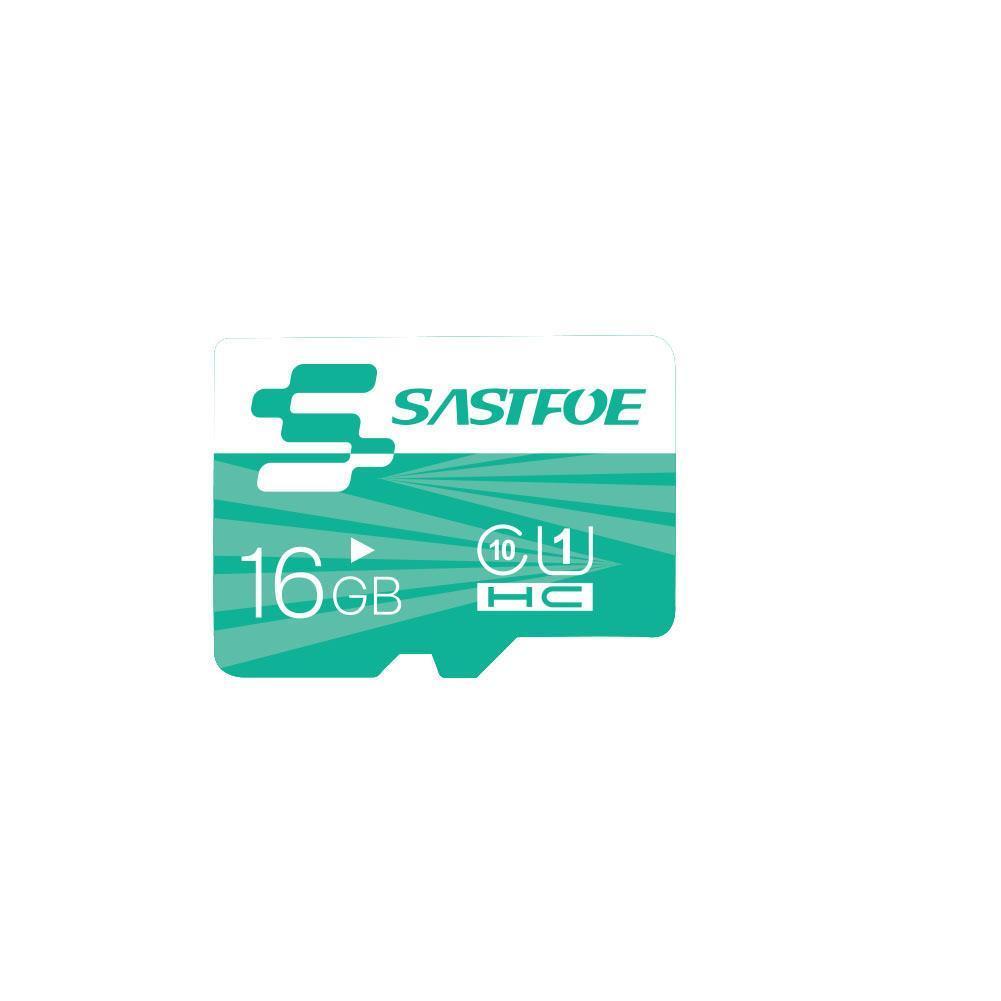 SASTFOE Green Edition 16GB U1 Classe 10 TF Micro Cartão de Memória para Câmera Digital MP3 TV Caixa Smartphone