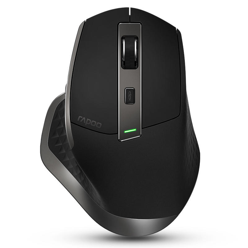 Rapoo MT750 Rechargeable Multi-mode Wireless Mouse bluetooth 3 0/4 0 RF  2 4GHz for Four Devices Mice