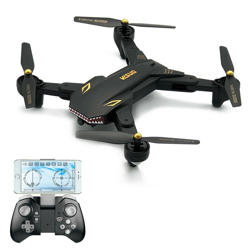 VISUO XS809S 와이드 앵글 카메라 20Mins 비행 시간 RC Quadcopter와 함께 720P 와이파이 FPV를 상대로 전투
