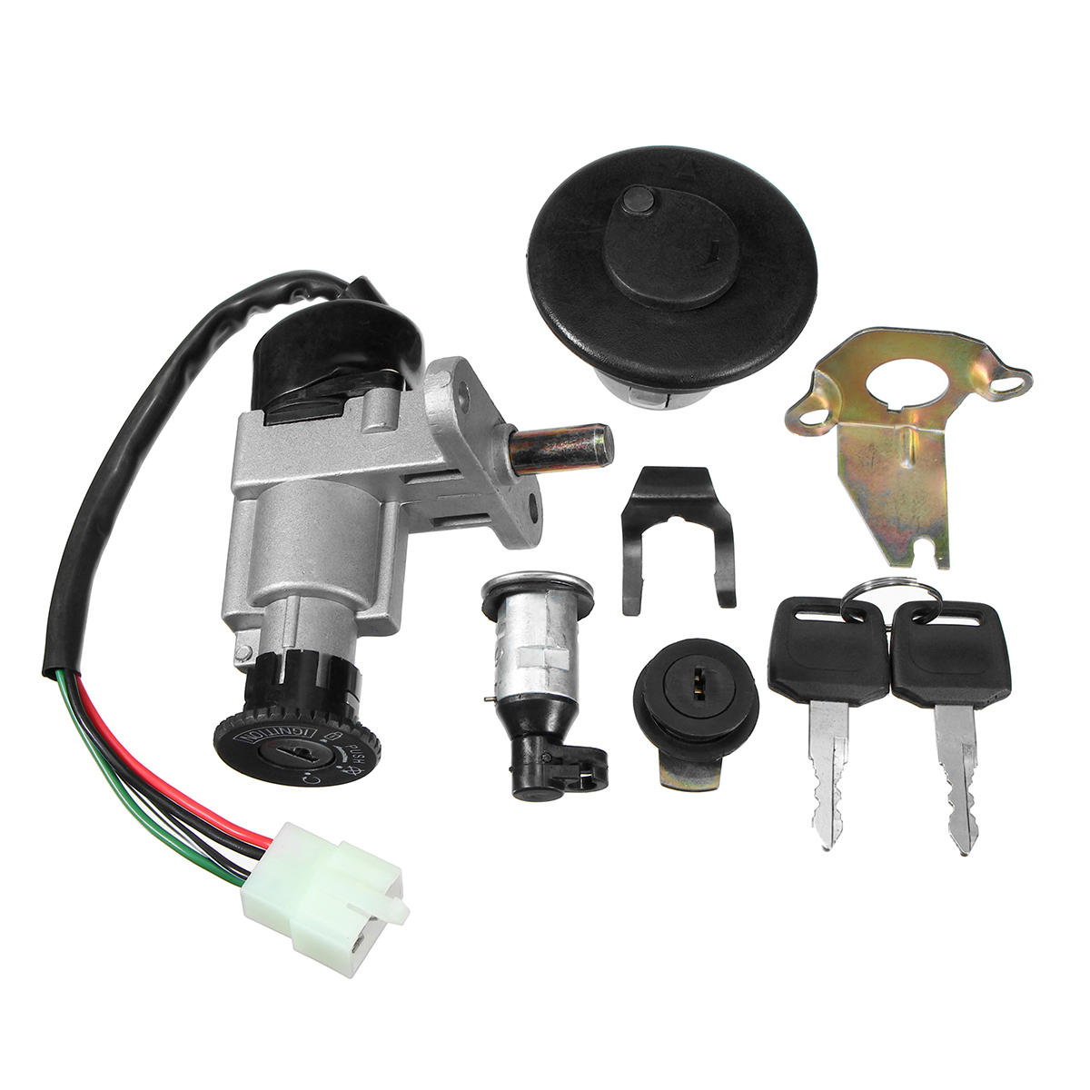 universal ignition switch key set 139qmb 50cc gy6 150cc ...