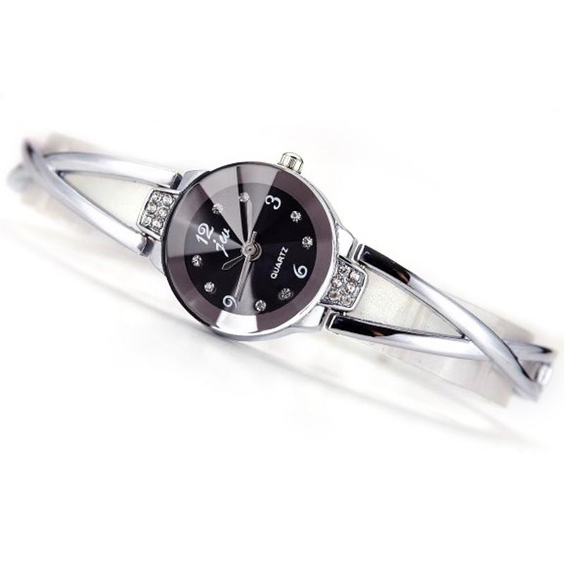 Fashion Women Steel Bracelet Ladies Dress Waterproof Quartz Watch