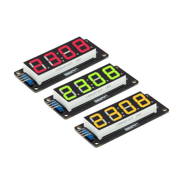 RobotDyn® LED Display Tube 4-Digit 7-segments Module For Arduino DIY